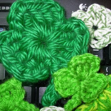 Shamrocks on JanMadeIt