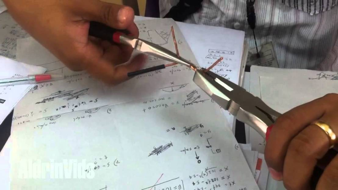 small resolution of common electrical wire splices and joints