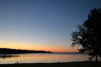 Navarro Mills Lake at Day Break