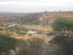 Overblik fra Tarangire Lodge