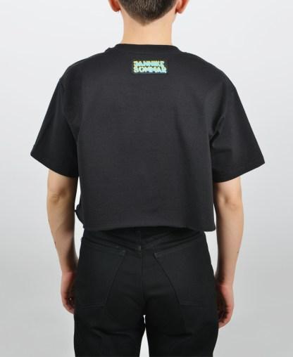 Kissing t-shirt in black