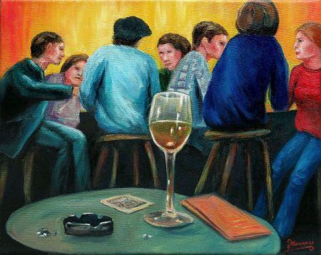 Tönz Kunst Malerei Ölmalerei