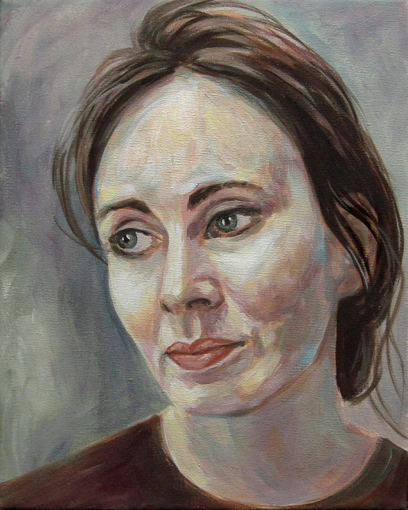 jenny, Kunst, Portrait Gemälde Painting