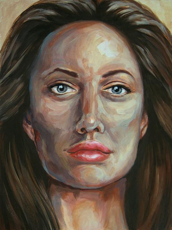 Woman, Portrait, Malerei Gemälde Painting