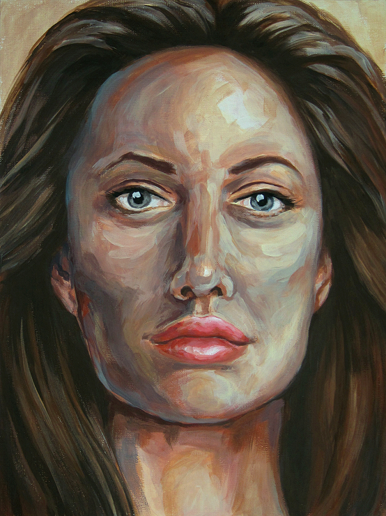 Woman Portrait Malerei Gemälde Painting modern