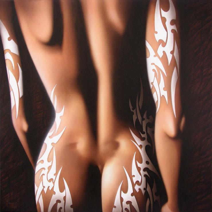 tattoo, Kunst, Malerei Gemälde Painting