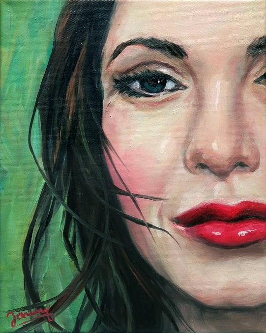suzanne Portrait Kunst Ölmalerei