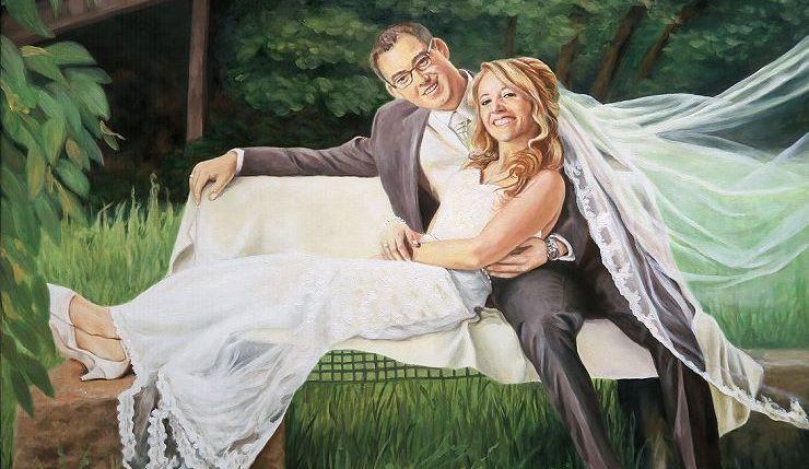 Ihr Ölportrait vom Foto als Ölgemälde