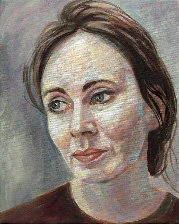 Portrait Kunst Gemälde Painting moderne Malerei
