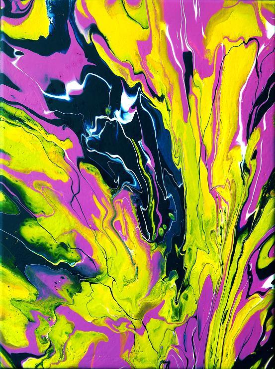 fluidpainting malerei kunst gemälde