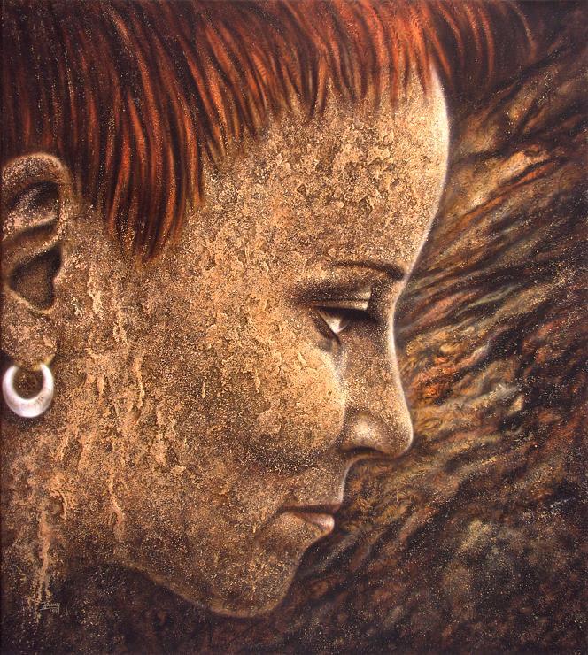 Selbstportrait kunst malerei gemälde