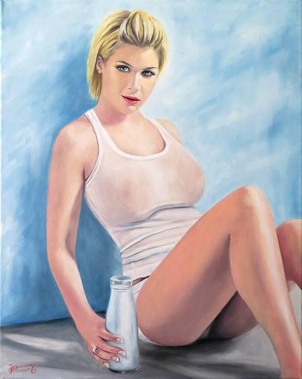 gemälde kunst malerei portrait