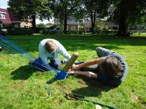 De touwen strak trekken met Mark