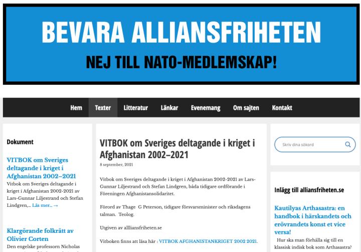 Läs! Oberoende svensk vitbok om kriget i Afghanistan