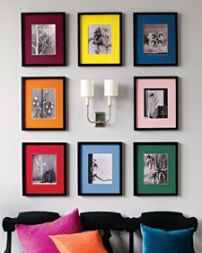 colourful frames