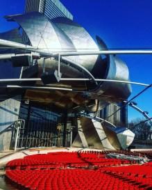 Millenium Park outdoor theatre