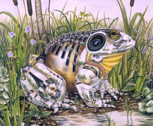 Amphibious (watercolor 1993)