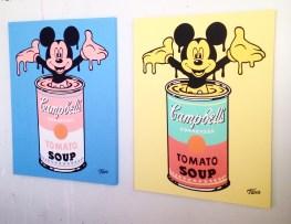 Antoine TAVA Pop ARtist Montreal Mickey Mouse