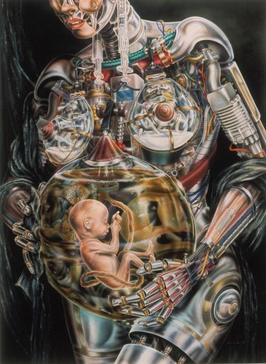 Introspection (acrylic airbrush 1994