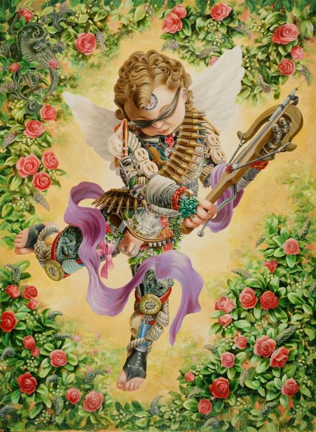 Katharsis (acrylic 1995, first symbolic painting)