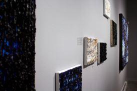 Expo solo Abstractions musicales par Louis-Bernard St-Jean, à la Galerie Youn