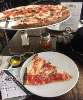 Juliannas Pizza Brooklyn amazing