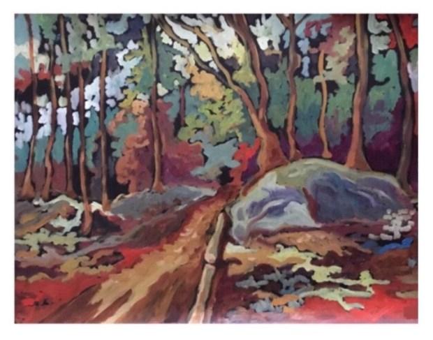Kevin Jenne Canadian Artist Artwork landscape