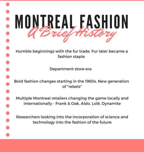 Montreal fashion history