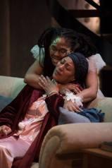 How Black Mothers Say I Love You,, Daphne & Cloe embrace