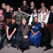 Cast of Bits From the Bard - Dramatis Personae Fall 2017. Photo: Westmount Community Theatre