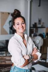 MC DUVAL in her Montreal Studio. Photo: Jon Rose Photo Montreal