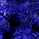 Cadavre Exquis Phi Centre - CHALKROOM. Photo: Sandra Larochelle