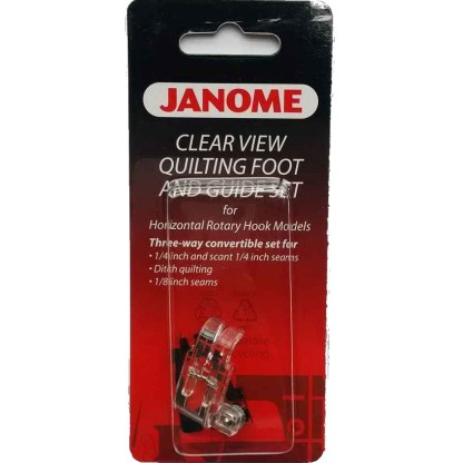 Janome-Clear-View Quilting-Set-Packaged