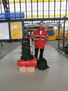 Auf dem Bahnhof in Hengelo
