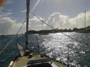 Ankerplatz Tobago Cays