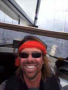 Selfie Ueberfahrt nach Martinique
