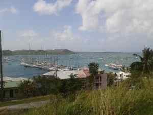 Ankerlieger Bucht von Le Marin