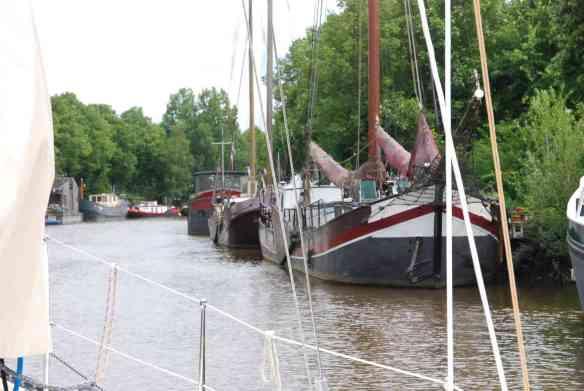 Plattbodenschiffe Groningen