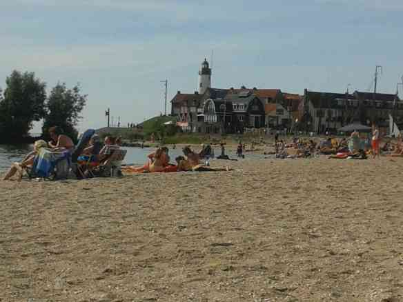 On the beach of Urk