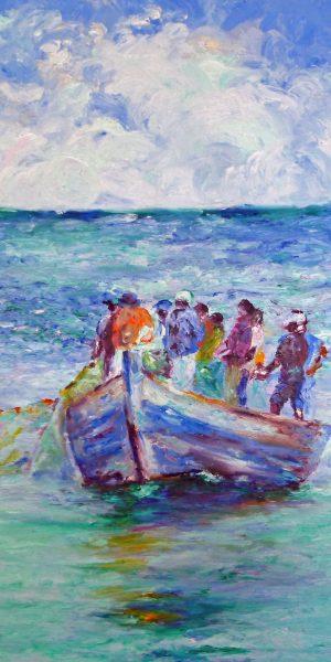 Blue Fishermen