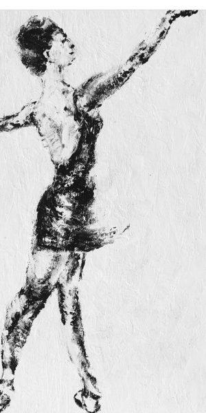 dancer oil on canvas Impressionism