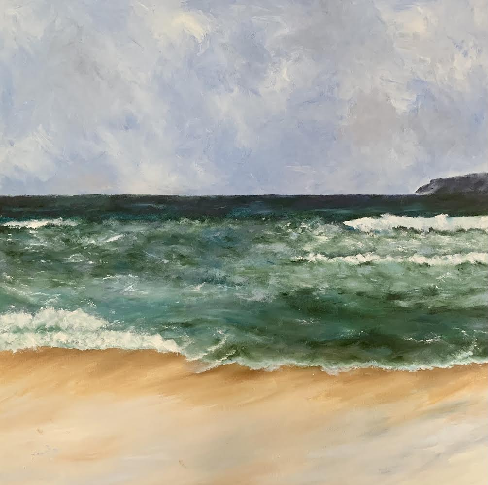 seascape im pressions painting finger painting