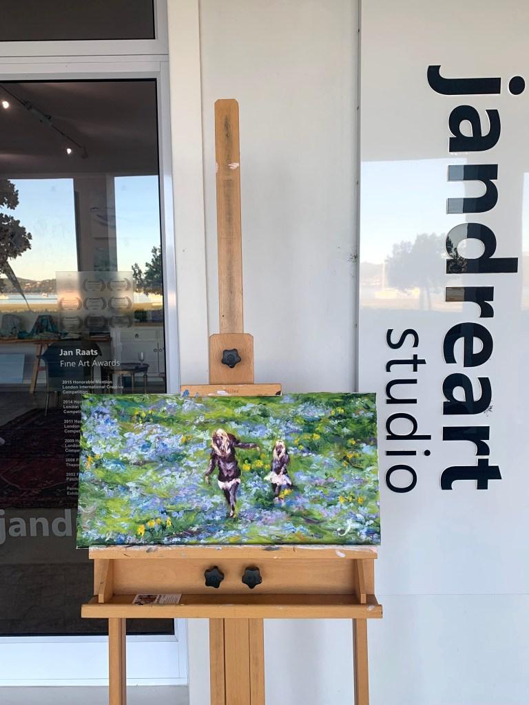 Jandreart Studio Spring Impressionist Painting
