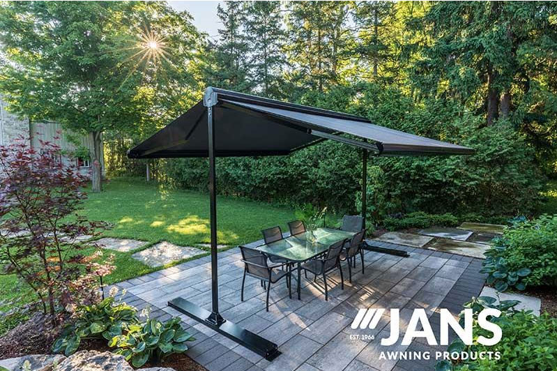 free standing awnings for home and