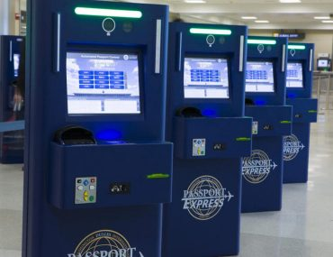 Global Entry Card kiosk