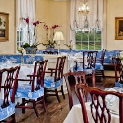 The dining room at Carolina Crossroads in Chapel Hill, North Carolina