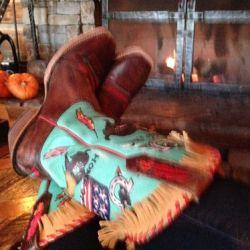 cowboy boots, Ranch at Rock Creek