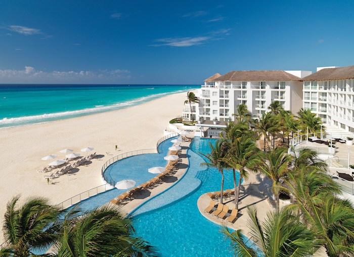Playacar Palace Resort, Playa del Carmen, Mexico.
