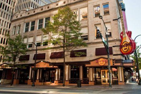 Hard Rock Cafe exterior, Atlanta