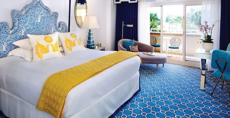 guest room, Eau Palm Beach Resort and Spa, Palm Beach, Florida